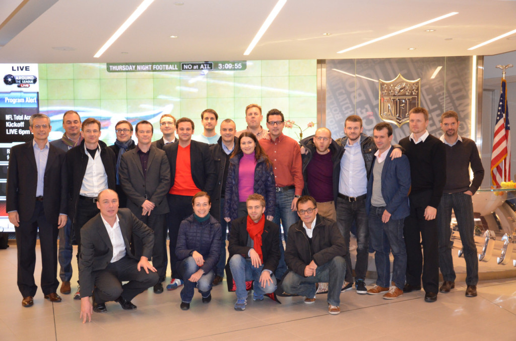 MESGO II participants at National Football League (NFL) headquarters in New York