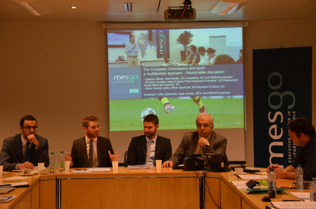 Round table about European Commission and sport at the Committee of the Regions