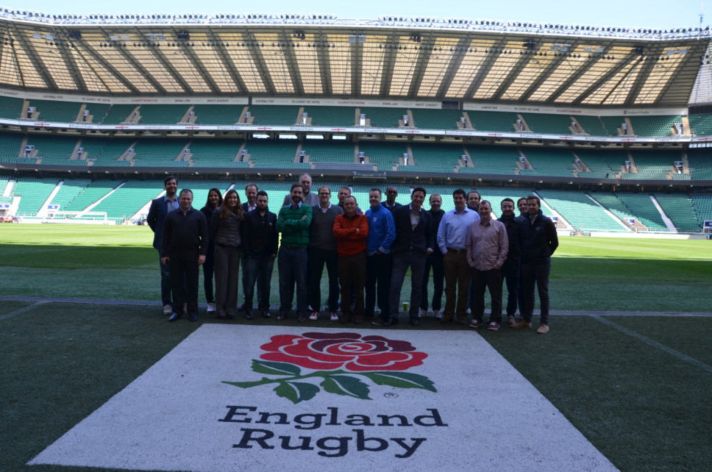 The MESGO III participants at Twickenham