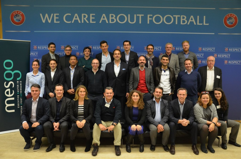 Session 2 MESGO IV Participants UEFA