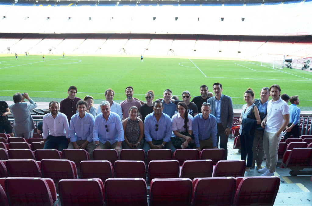2. Visit of FC Barcelona facilities at Camp Nou