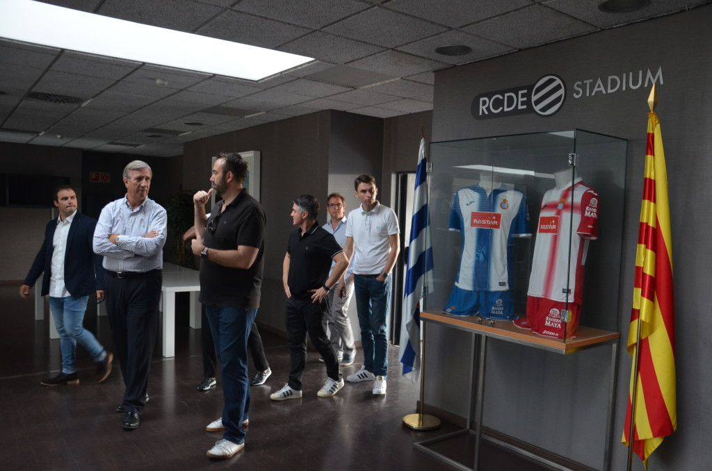 4. Guided visit of RCD Espanyol Stadium by its architect Mark Fenwick